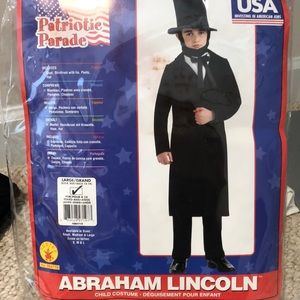 Abraham Lincoln child costume by Rubie's